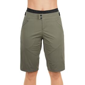 Cube AM Baggy Shorts inklusive Innenhose Damen oliv